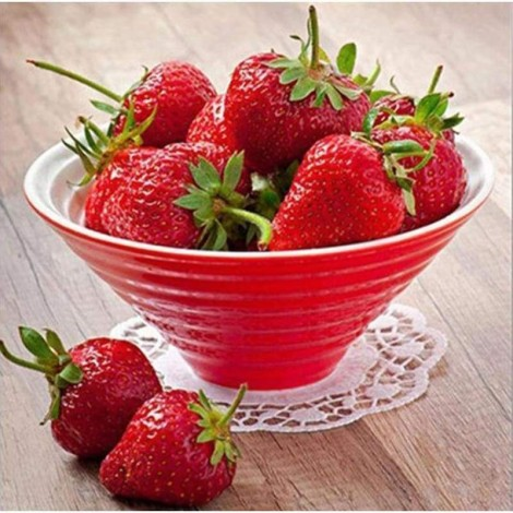 Full Drill - 5D DIY Diamond Painting Kits Artistic Strawberries Fruits Picture