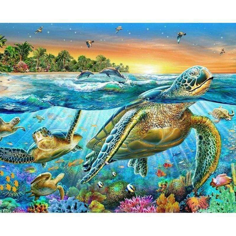 Sea Turtle Pattern D...