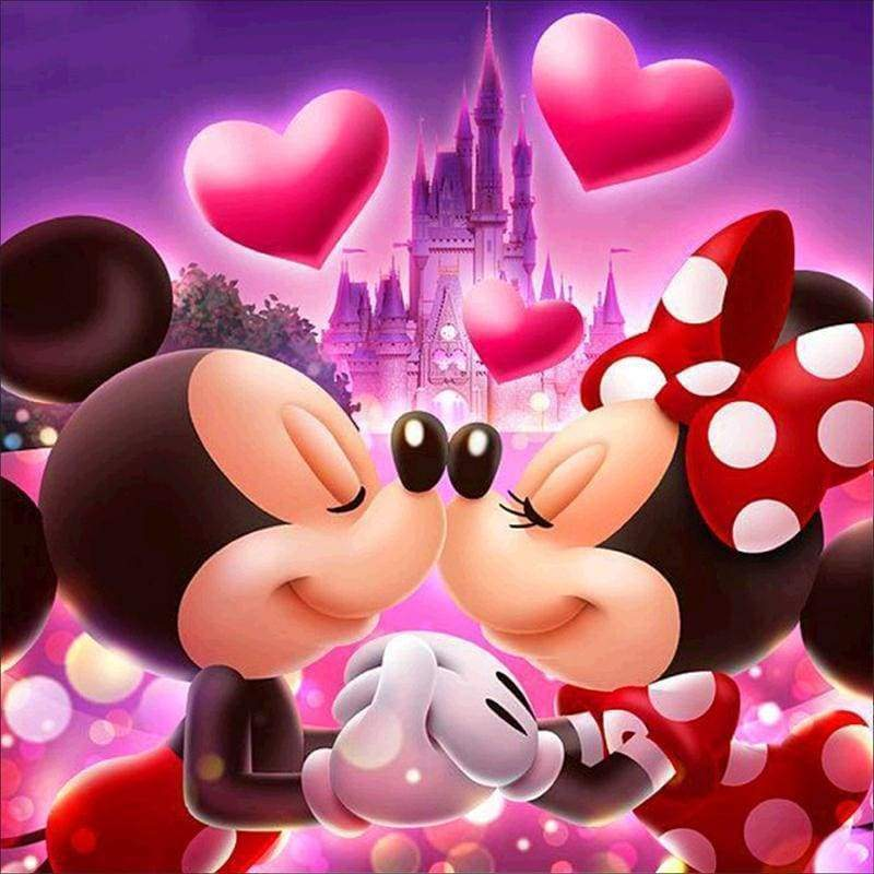 Mickey and Minnie in Love...