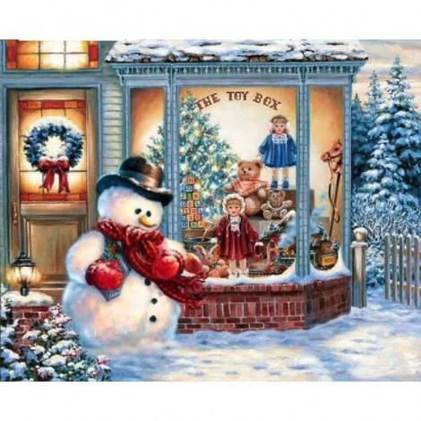Christmas Toy Store  - Full Drill Diamond Painting