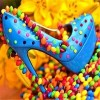 Full Drill - 5D Diamond Painting Kits Candy Shoes Icon