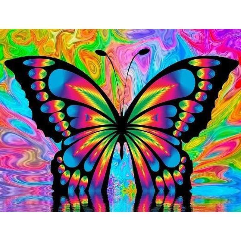 Colourful Butterfly-...