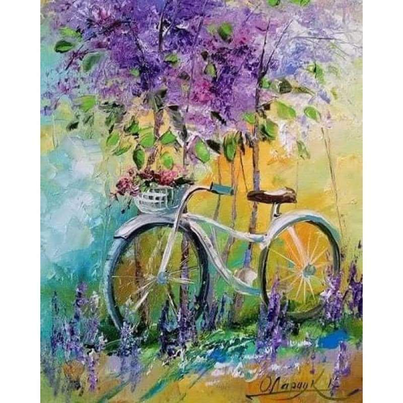 Oil Painting Bicycle...