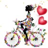 Full Drill - 5D DIY Diamond Painting Kits Butterfly Bicycle Beauty